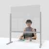 Desk & Counter Screen -Free-standing - 800mm Wide
