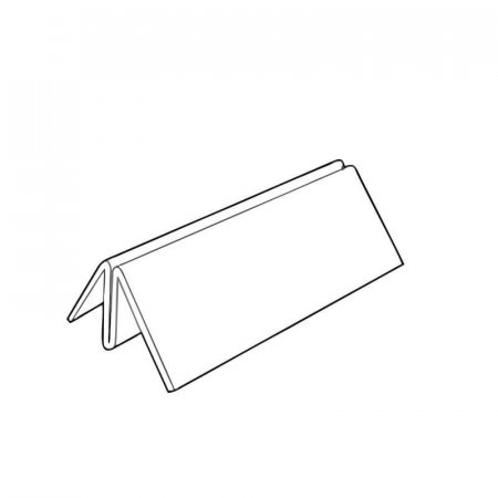 Acrylic Showcard Holder 100mm Wide