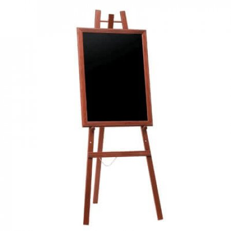 Easel and Chalkboard
