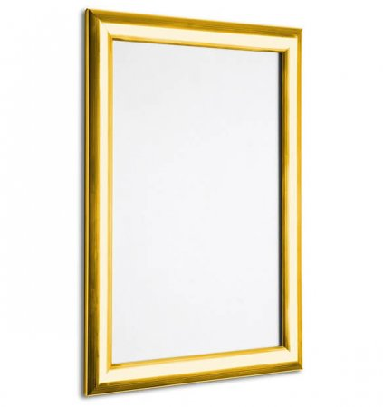 A2 Polished Gold Snap Poster Frame
