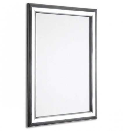 A1 Polished Silver Snap Frame