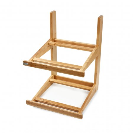 2 Tier Wooden Display Stand Only