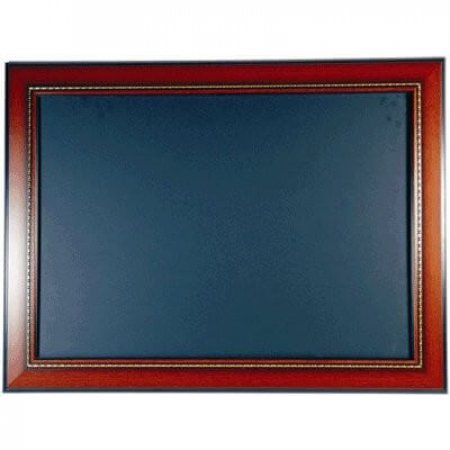 Walnut Framed Chalkboard 931 x 1279mm