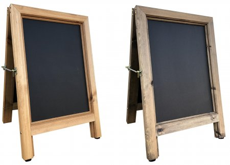 Chunky Wooden A-board - A2