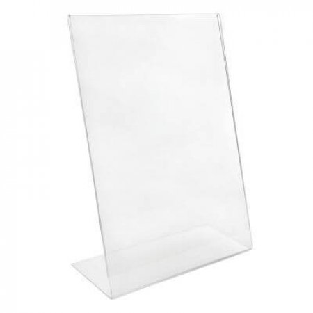 A4 Angled Acrylic Menu and Leaflet Holder