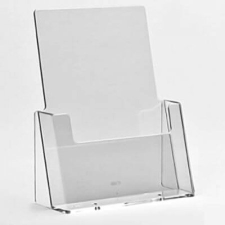 A5 Freestanding Acrylic Leaflet Holder
