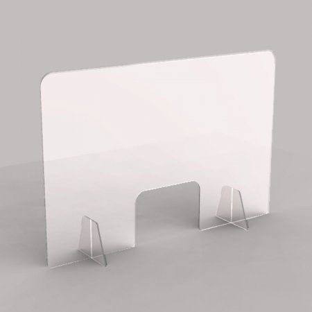 Acrylic Sneeze Guard Shields - Protective Cashier Screens