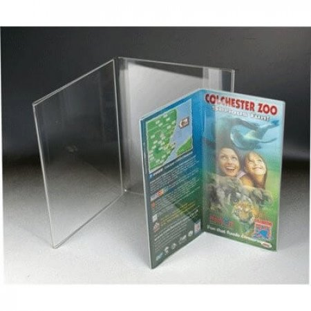 Acrylic Table Menu Holder