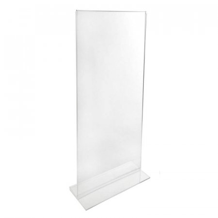 1/3 A4 Portrait Acrylic Menu Leaflet Holder