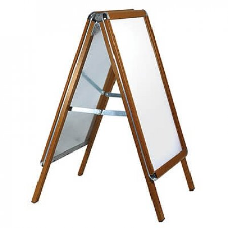 Snap Frame A-board -  Golden Oak