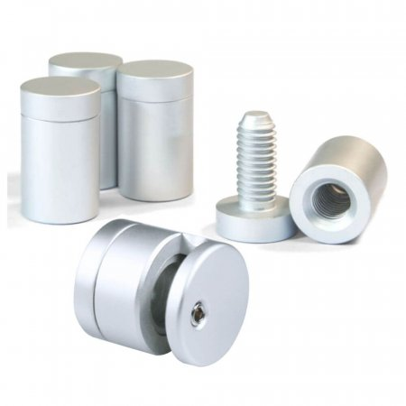 Stand Off Fixings - Anodised Aluminium