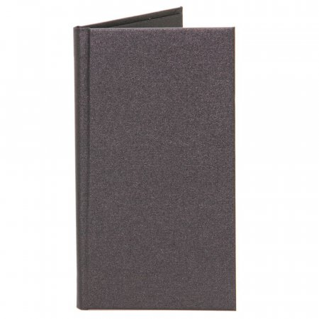 Black Buckram Bill Presenter Folder