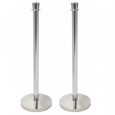 Polished Rope Stands x 2