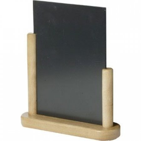 Beech Table Top Chalkboard 150 x 210mm