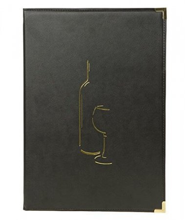Classic Wine List Simulated Leather