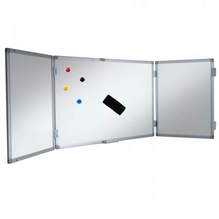 1200 x 1200mm Magnetic Confidential Whiteboard