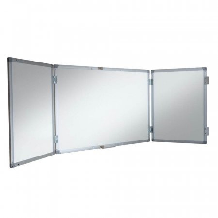 900 x 600mm Lockable Confidential Dry Wipe Whiteboard