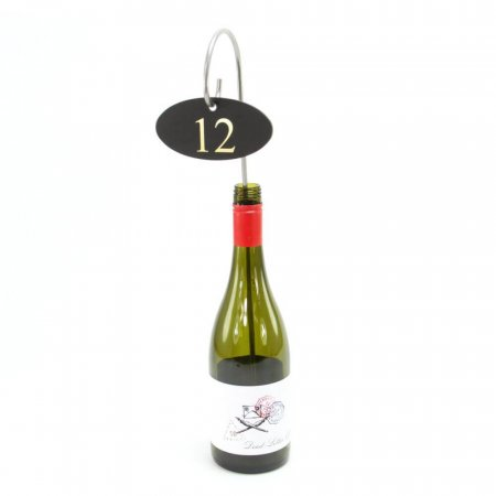 Stainless Steel Crook Table Number
