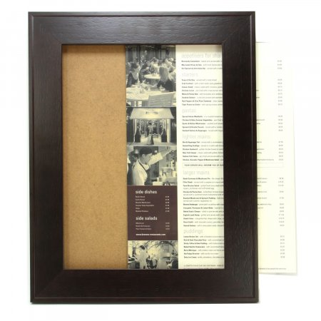 A2 Luxury Chocolate Poster Frame