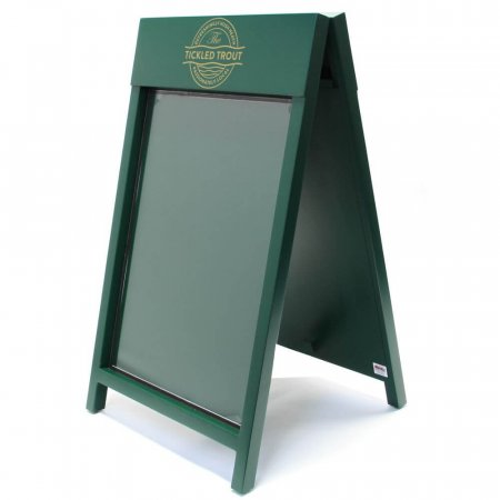 Dark Green Painted Cote A-board Pavement Sign