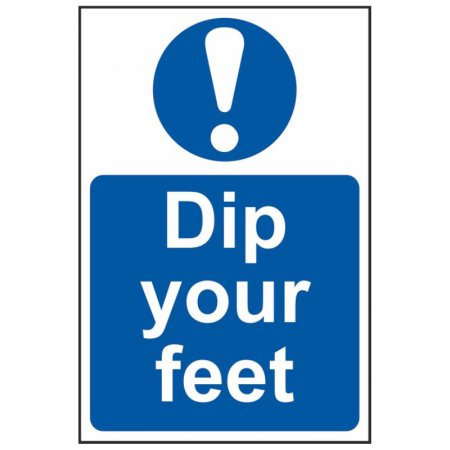 Dip Your Feet Sign