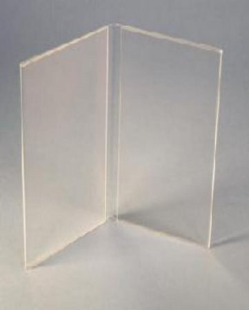 1/3rd A4 Acrylic Book Style Menu Holder