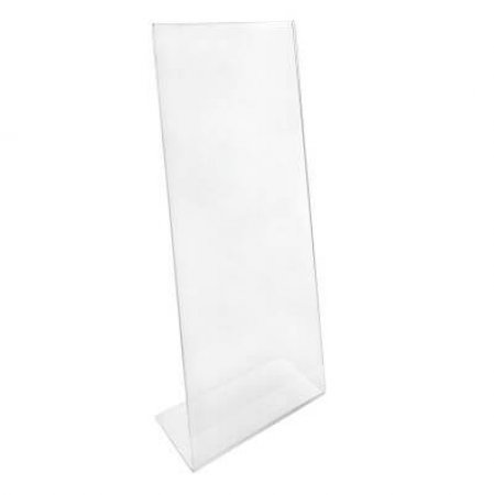 1/3 A4 Angled Acrylic Menu and Leaflet Holder