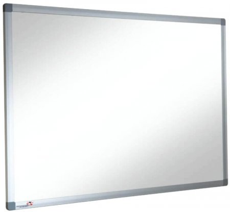 1200 x 1200mm Non-Magnetic Heavy Use Dry Wipe Whiteboard