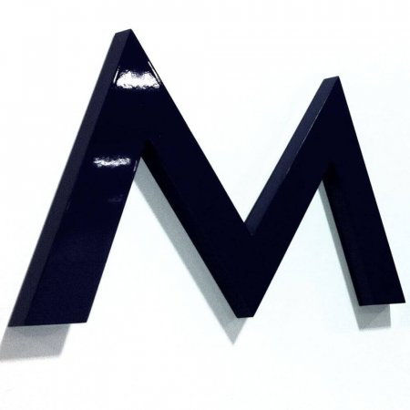 Acrylic Letter - Flat Cut - 10mm Thick