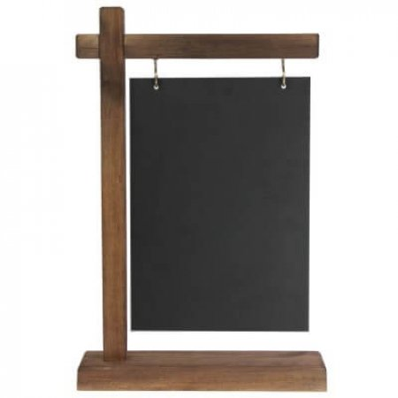 A5 Gantry Table Top Chalkboard