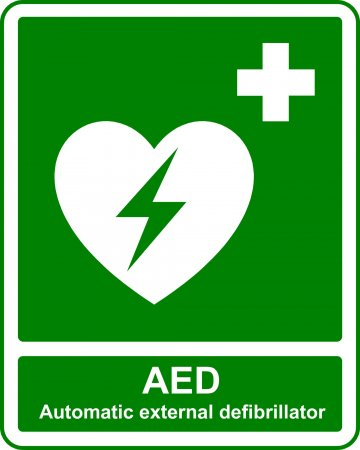 AED - Safe Condition Sign