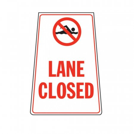 Lane Closed Portable Floor Stand