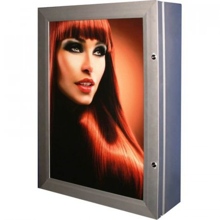 Lockable Backlit Lightbox