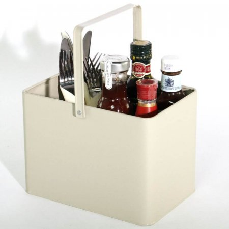 French Grey Condiment Bucket