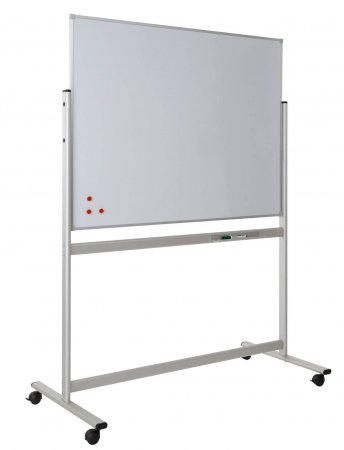 1200 x 1200mm Mobile Whiteboards with Fixed Board