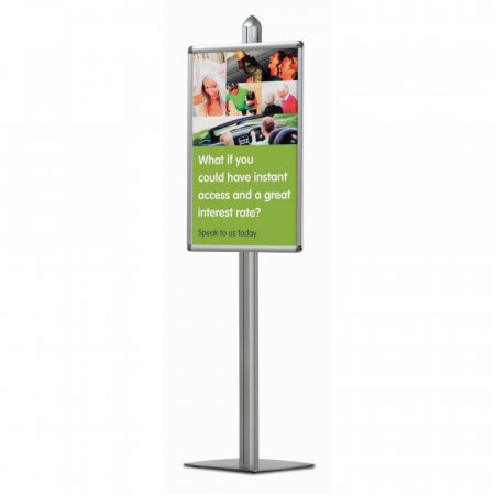 Poster Display Unit WITH 1 x A1 poster Frame