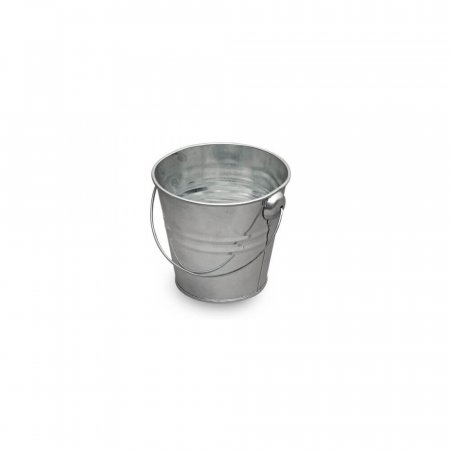 Small Galvanised Display Bucket