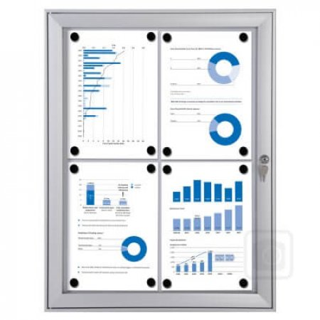 Outdoor Lockable Notice Board