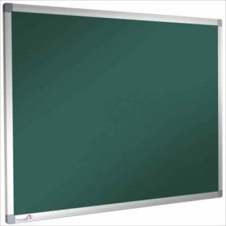Green Premier Felt Noticeboards with Aluminium Frame