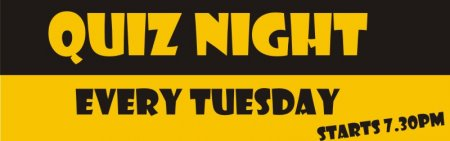 'Quiz Night' Banner