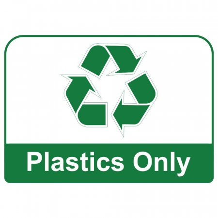 Recycling Sign - Plastics Only