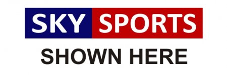 'Sky Sports Shown Here' Banner