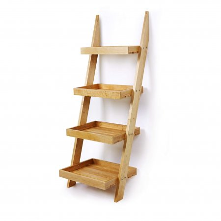 4 Tier Ladder Display Stand - 1350mm