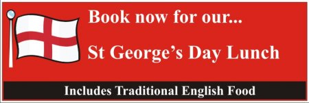 St Georges Day Banner