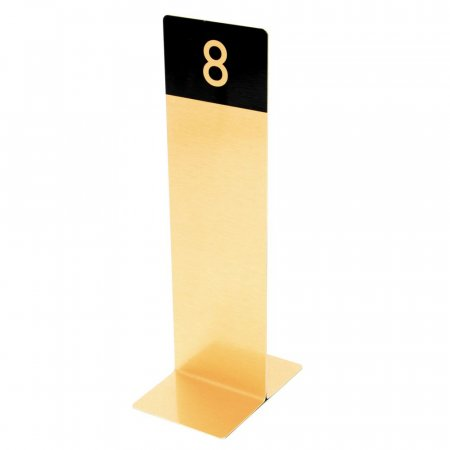 Brushed Gold Table Numbers