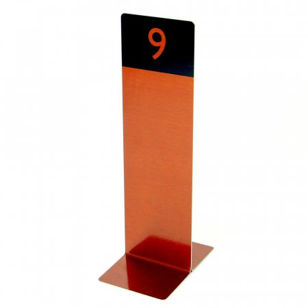 Copper Tall Table Numbers