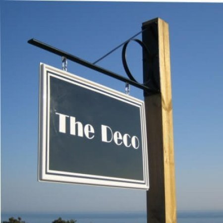 The Deco Sign With Post Bracket