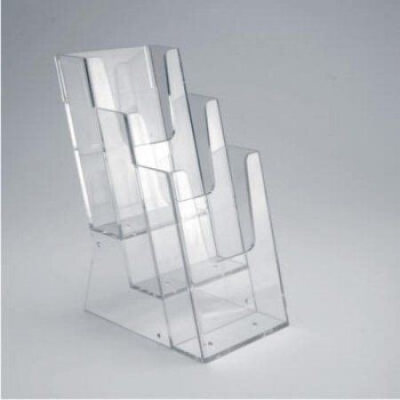 Acrylic Tiered Leaflet Holders