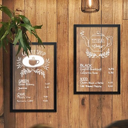 Transparent Wall Chalkboards - 2 Sizes