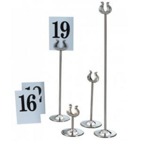 Silver Table Number Stand